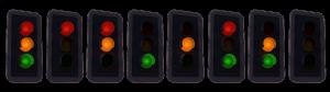 Letselschade door aanrijding voor een stoplicht