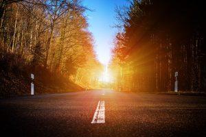 Schadevergoeding verkeersongeval laaghangende zon