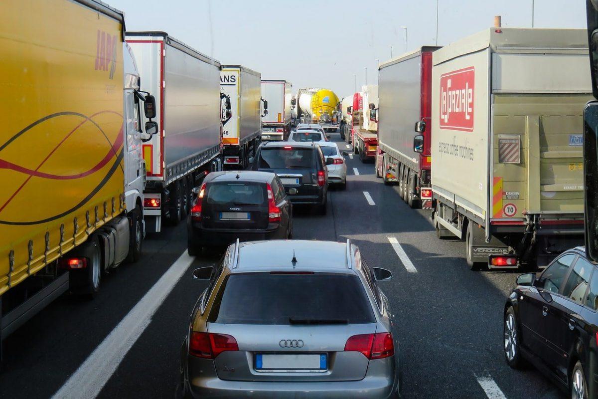 Aangereden vrachtwagen letsel